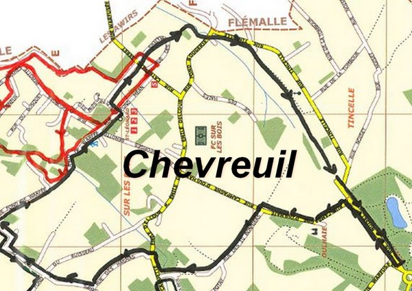 Carte du Chevreuil