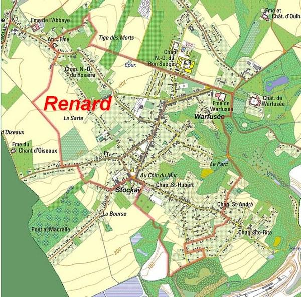 Carte du Renard