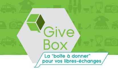 Guive Box la Boîte à donner