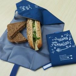 Emballage réutilisable pour tartines – Une nouvelle étape vers le Zéro déchets